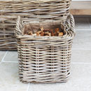 Handwoven Kindling Basket