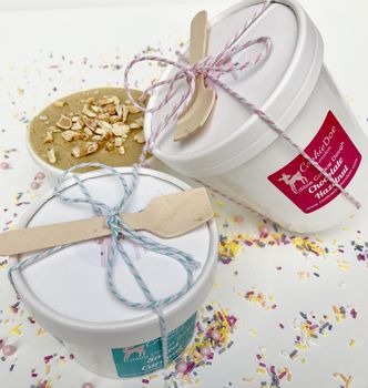 Edible Cookie Dough Gift Wrapped Three Pack
