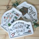 Personalised Shed And Garden Sign