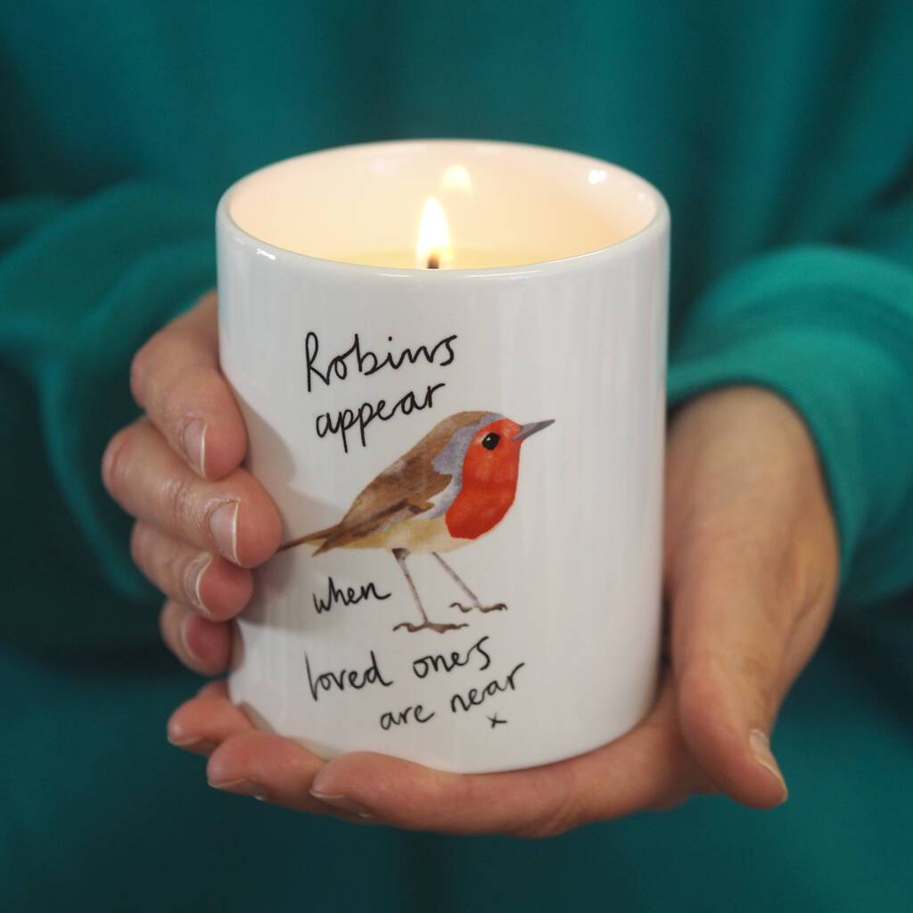 Robin Memorial Scented Soy Candle by So Close
