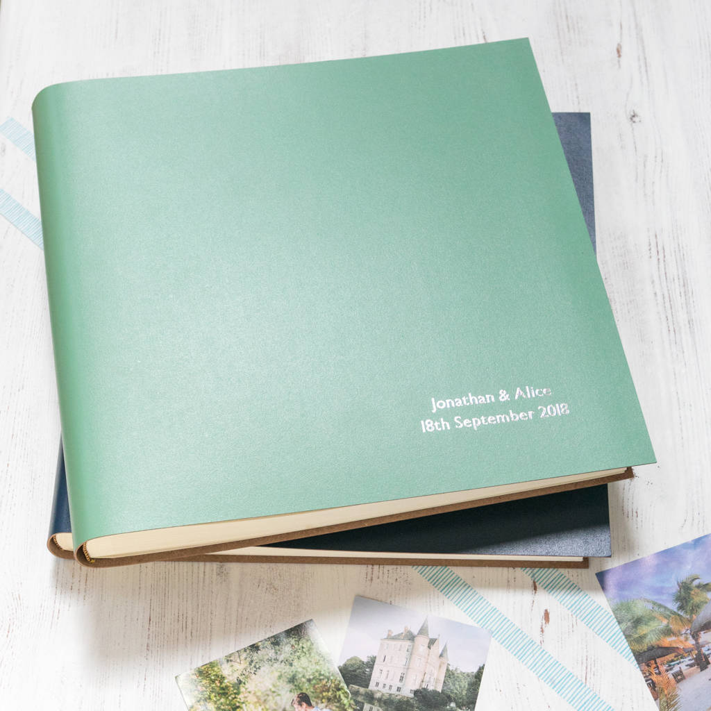 8x10 Wedding Albums: Extra Large Leather Photo Album By Begolden