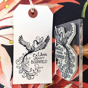 Personalised 'Firebird' Book Belongs To Stamp - shop by category