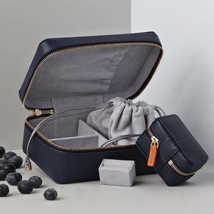 Personalised Luxury Jewellery Case Travel Gift Set
