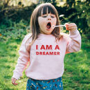 I Am A… Personalised Children's Jumper