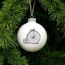 Bauble With Vintage Bike