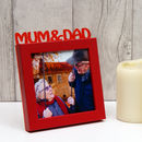 Mum And Dad Mini Photo Frame