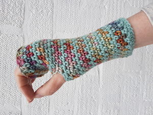 British Handmade Fingerless Luxury Gloves British Wool - gloves