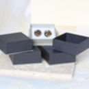 Metal Filings Cufflinks