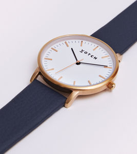 New Collection Rose Gold Vegan Leather Watch - watches