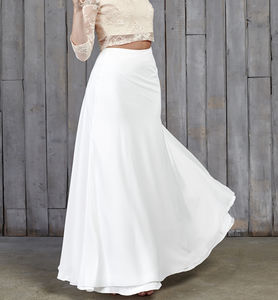 Hammond Bridal Maxi Skirt - dresses