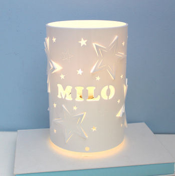 Personalised Mixed Star Table Lamp
