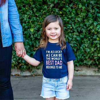 'Best Dad Ever' Kids T Shirt