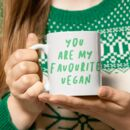 Favourite Vegan Mug