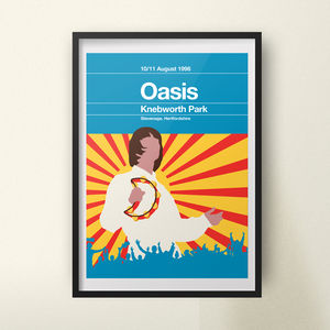 Oasis Remixed Gig Poster