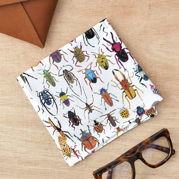 Beetle Handkerchief Pocket Square