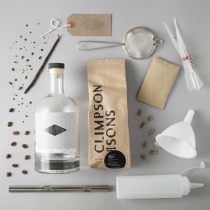 Cold Brew Coffee Liqueur Kit