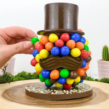 M And M's Chocolate Head