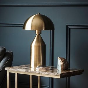 Gold Dome Lamp - modern decadence