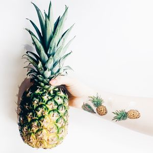 Pineapple Summer Temporary Tattoos