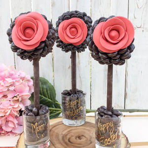 Personalised Minstrel® Rose Tree - food gifts