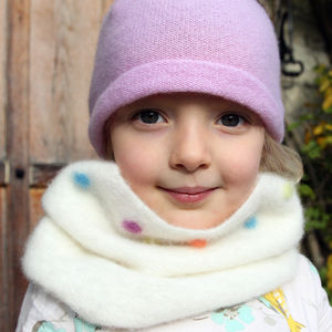 Pure Cashmere Children's Snood - hats, scarves & gloves