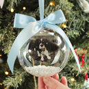 Personalised Pet Photo Christmas Bauble
