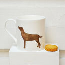 Chocolate Labrador Fine Bone China Mug