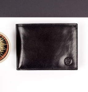 Finest Leather Trifold Wallet 'The Gallucio'