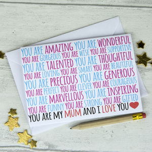 You Are Amazing Mother's Day Card - mother's day cards
