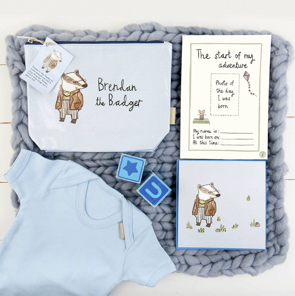 new baby boys gift set by zellie | notonthehighstreet.com