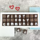 Personalised Chocolates In Medium Box