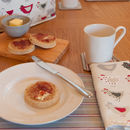 Roost Red Organic Napkins