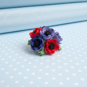 Anemone Brooch In Two Colour Choices - pins & brooches