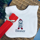 Baby's Elf Bib Christmas Cracker Personalised