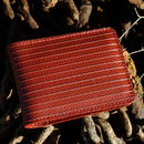 Reclaimed Fire Hose Double Card Holder