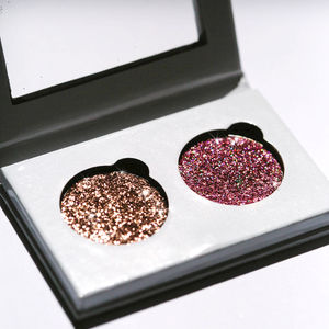 Sparkle Fantasy Pressed Glitter Duo Palette Rose Gold