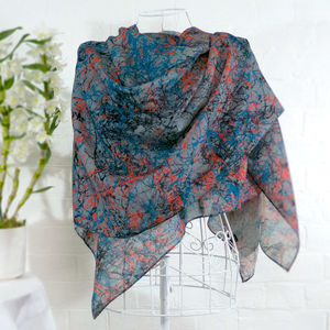 'Jackson' Large Luxury Scarf Wrap - pashminas & wraps