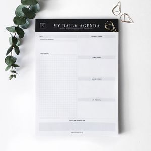 My Daily Agenda | Notepad - new in
