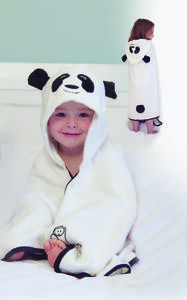Cuddlepanda Hooded Toddler Towel