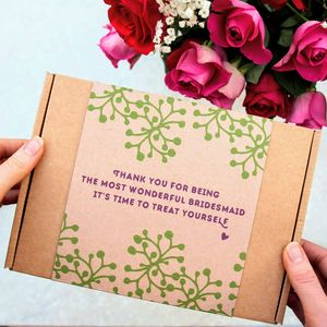 Thank You For Being My Bridesmaid Face Mask Kit - bridesmaid gifts