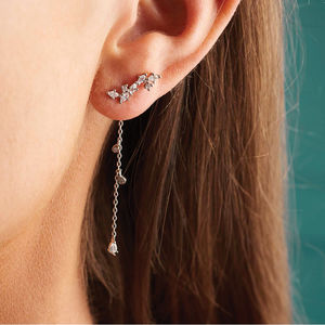 Two Way Earrings - party wear & accessories