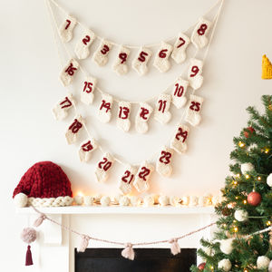 Knit Your Own Personalised Advent Calendar