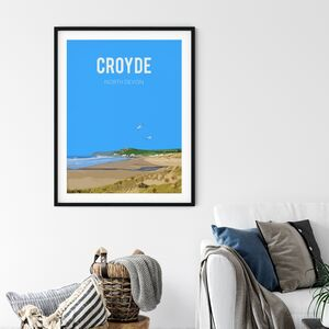 Croyde, North Devon Fine Art Print