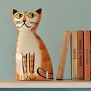 Ginger Cat Money Box