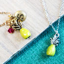 Personalised Pineapple Charm Necklace