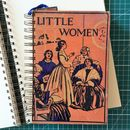 'Little Women' Upcycled Notebook