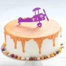Personalised Airplane Birthday Cake Topper