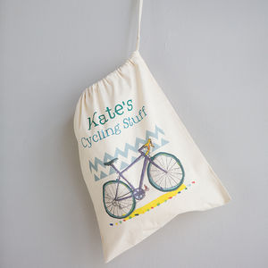Personalised Cycling Storage Bag - view all father's day gifts