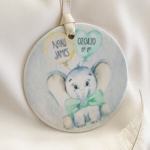 New Born Celebration Bauble
