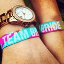 Team Bride Multicoloured Hen Party Wristbands